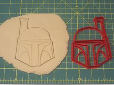 Boba Fett Cookie Cutter by on Etsy Star Wars Cookie Cutters, Star Wars Cookies, Star Wars Food, Star Wars Party, Love Stars, Boba Fett, Cookie Decorating, Handmade Gifts, Starwars