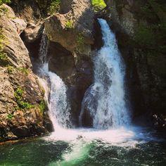 Bash Bish Falls in South Egremont, MA