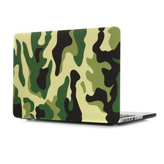 Fashion Slim fit Soft-Touch Plastic Hard Case Cover for Apple The New Macbook inch Retina Display Model Laptop Computer, Army Tribe Style Blue Camouflage Decorative Design New Macbook Air, Macbook 13, Laptop Computers, Laptop Case, Camouflage, Keyboard Cover, Retina Display, Laptop Accessories, Pattern Art