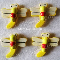 3000PCS/LOT.Yellow dragonfly stickers,Kids toys,scrapbooking kit,Early educational DIY.Kindergarten crafts.Classic toy