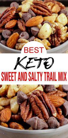 Keto Snacks, Easy Snacks, Trail Mix Recipes, Snack Recipes, Super Healthy Recipes, Kitchen Recipes, Breakfast Recipes, Dinner Recipes, Sweet And Salty Trail Mix Recipe