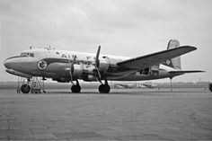 28 November 1949 -  Douglas C-54A (F-BELO) struck a tree on a small hill while…