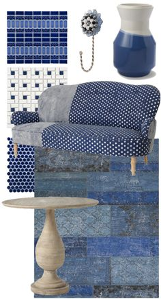 Feeling Blue? Blue home decor items from The Walkup!