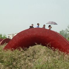 The Garden of 10,000 Bridges · actually contains onlyfive bridges · park in Xi'an, China · international architects West 8