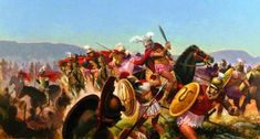 The greatest victory of Philip II of Macedonia, the battle of Chaeronea, solidified Macedonian rule in Greece. This clash between the Greek city-states European History, Ancient History, Macedonia, Greek Soldier, Greek Warrior, Alexander The Great, Ancient Greece, Military History, Historical Photos