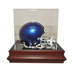 New Orleans Saints NFL Boardroom Mini Helmet Display Case