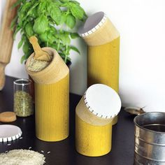 Canister set: Beechwood Home Goods From Spain