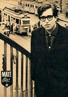 1967. Máté Péter a Moszkva téren.