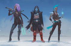 Characters: Glaive, Jack, Nano