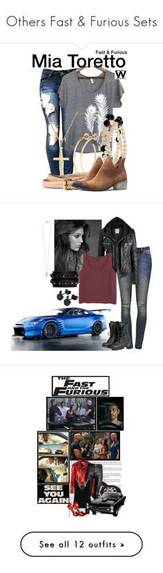 """""""Others Fast & Furious Sets"""" by medieval-style ❤ liked on Polyvore featuring Uzura, Jill Platner, H&M, wearwhatyouwatch, film, Anine Bing, PLDM by Palladium, Valentino, Monki and IRO"""