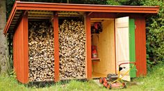 Buy Chickens, Wood Store, Cottage In The Woods, Mini Farm, Lawn Mower, Country Living, Tiny House, Pergola, Patio
