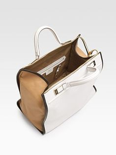 Anya Hindmarch Bag - great colorblocking detail b320fc9ae343d