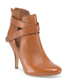 image of Leather Stella Dress Bootie