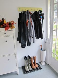 Hat Rack Target Classy Easy Home Makeover Sun Porch  Umbrella Holder Target And Apartments Inspiration Design