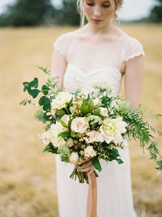 Intimate Black Tie Wedding Inspiration | Photos by Katie Grant