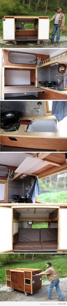 Just a mobile homeless shelter...