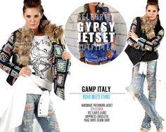 Bohemian Jacke Patchwork * GAMP, Italy #bohemian #gamp #patchwork #crochet #grannysquare