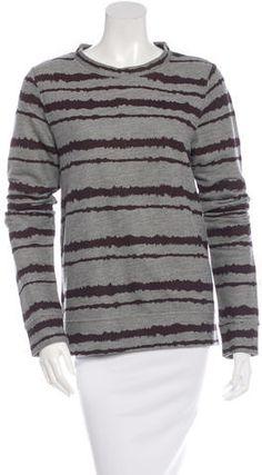 printed terry cloth sweatshirt with crew neck and long sleeves. Grey Sweatshirt, Crew Neck Sweatshirt, Pullover, Long Sleeve Sweater, Long Sleeve Tops, Men Sweater, Top Pattern, Sleeve Pattern, Sweatshirts Online