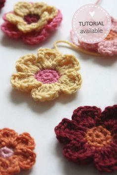 Still love crochet flowers