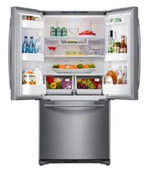 Delightful Counter Depth French Door Refrigerator In Stainless Steel (Silver) | French Door  Counter Depth Refrigerators | Pinterest
