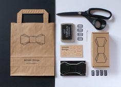 Here is our packaging. Наши галстуки-бабочки мы упаковываем в такие крафтовые коробочки и пакеты.