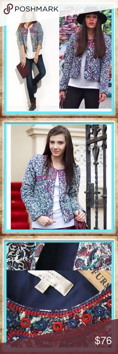 💠Coming Soon❄️️ Women Fashion Jacket New Style Women Fashion Jacket New Style  Package including: 1x Women Embroidery Print JACKET Description: Style: Fashion Decoration: Embroidery Type: Slim Cigarettes   I'm offering 10% off bundles of two or more and a free gift   ‼️❕‼️COMMENT BELOW TO BE NOTIFIED WHEN THIS ITEM IS AVAILABLE FOR PURCHASE ‼️❕‼️  PRICE IS FIRM UNLESS BUNDLED  Keywords : coat, slim, jacket, embroidered, embroidery, retro, round, padded, outerwear Jackets & Coats