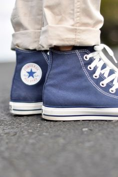 Converse high tops will always be cool