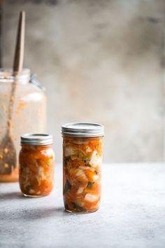 Easy 30 Minute Kimchi And Vegan Fish Sauce   Cook Republic   Bloglovin'