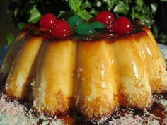 Flan de queso y coco Ana Sevilla cocina tradicional
