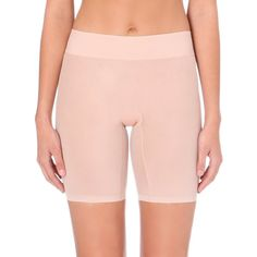 Wolford Sheer touch control shorts ($74) ❤ liked on Polyvore featuring intimates, transparent lingerie, wolford, wet look lingerie, sheer lingerie and see through lingerie