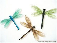 QUILLING - dragonfly #종이감기#종이공예#잠자리#핸드메이드 #quilling #paperquilling #papercrafts #paperart#dragonfly#handmad