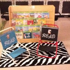 Read to self spot in my room!