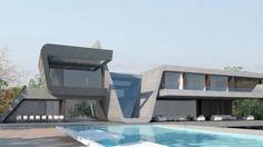 Maison Gareth Bale: Estimé à 1.2 millions d'euros, ce terrain de 3 800m² comporte une sublime résidence, tout confort, de 800m² habitables.