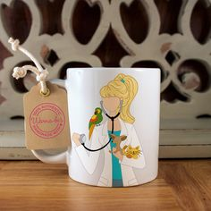 My niece LOVED this!!! Custom Mug – Perfect Gift for a Veterinarian or Graduation Gift for a Veterinarian-to-Be, $14.99 (etsy)