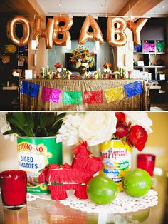 Fiesta themed party (yes, baby shower but could be used for other parties too)