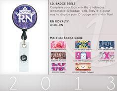 A101 ID Badge Reels | A101-RN (RN Royalty)