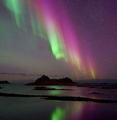 Northern Lights by Øystein Lunde Ingvaldsen, Northern Norway  Jan. 22, 2012