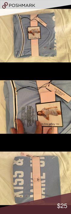 BNWT.. Victoria's Secret Baby Blue Sleep Shirt BNWT.. Victoria's Secret Blue Sleep Shirt. ❤️ Bundle and save!❤️ PINK Victoria's Secret Intimates & Sleepwear Pajamas