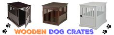 Wooden Dog Crates That Look Like Furniture - Luxury Crate End Tables