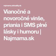 Vianočné a novoročné vinše, priania i SMS plné lásky i humoru   Najmama.sk