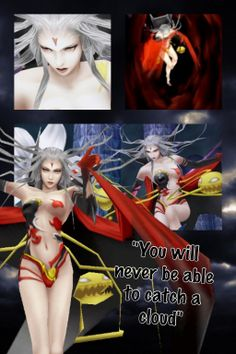 Final fantasy wallpapers~ Cloud of Darkness by Emeraldfire131 on deviantART