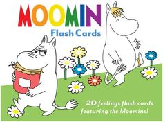 moomin flash cards