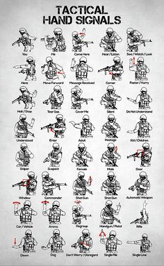 tactical hand signals, swat hand signals, visual signals, combat formations, battle, hand and arm signals, survival, military training, zombie apocalypse, law enforcement, military special operations team, close combat, military, military gifts, military decor, military mom gifts, police officer gifts, police gifts, swat gifts, swat wall decor, us army, weapon, squad, infantry, navy, air force, marines, gift for him, gift for men, gift for husband, gift for boyfriend, swat art, swat gift
