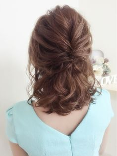 Ideas for Bridal Wedding Hairstyles Loose Hairstyles, Wedding Hairstyles, Pretty Hairstyles, Mother Of The Groom Hairstyles, Mother Of The Bride Hair Short, Medium Hair Styles, Curly Hair Styles, Hair Arrange, Hair Extensions Best