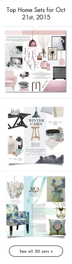"""Top Home Sets for Oct 21st, 2015"" by polyvore ❤ liked on Polyvore featuring interior, interiors, interior design, maison, home decor, interior decorating, LSA International, Menu, iittala et Artek"