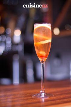 Une idée de cocktail de champagne à l'armagnac prêt en 5 minutes. #recette#cuisine#cocktail#champagne #armagnac Armagnac, Cocktails, Champagne, Drink, Bartenders, Craft Cocktails, Cocktail, Drinks, Smoothies