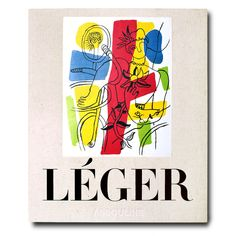 Assouline - Fernand Leger A Survey Of Iconic Works Book - Multi - White/Brown/Red Award Winning Books, Assouline, Constructivism, Coffee Table Books, Advertising Poster, Vintage Books, Vintage Art, Design Crafts, Book Art