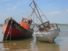 View top-quality stock photos of Old Boats. Find premium, high-resolution stock photography at Getty Images. Just For Today Quotes, Lee Thomas, Ship Drawing, Old Boats, Lake Water, Fishing Boats, Royalty Free Images, Sailing Ships, Beautiful Pictures