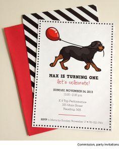 black and white dog birthday party pretty fluffy diy goodness pinterest dog birthday and white dogs - Dog Birthday Party Invitations