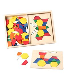 Pattern Blocks & Boards - My kids love playing with pattern blocks. Great for the younger crew!